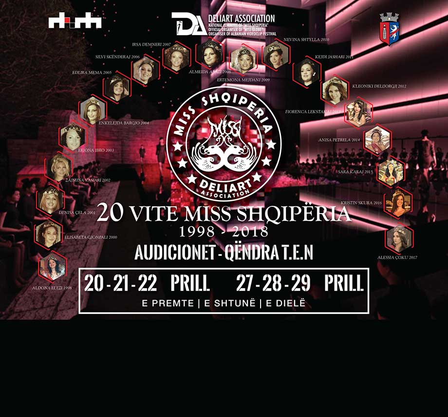 Miss Shqiperia 2018 Poster