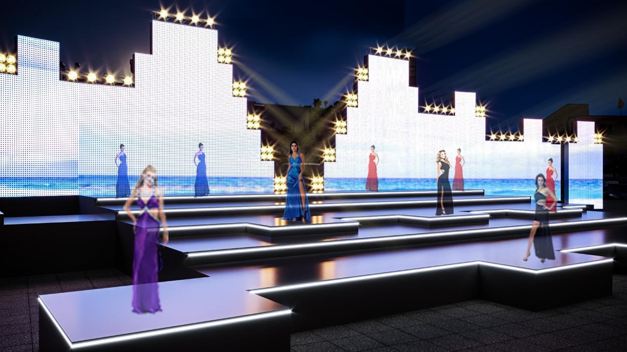 Miss Shqiperia 2020 Skena
